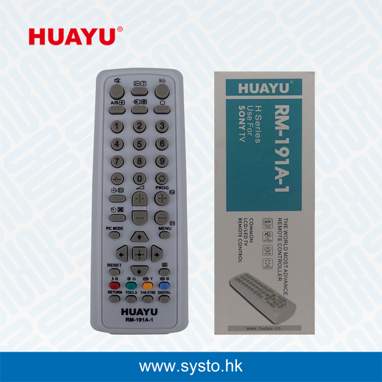 RM-191A-1 USE FOR Sony TV Remote Control丨HUAYU - CRT TV