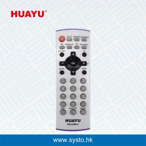 HUAYU RM-532M-C (Pbox) COLOR USE FOR Panasonic TV Remote Control