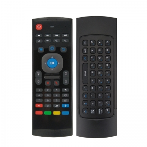 MX3-M 2.4G Air Mouse Fidelity Voice Input &QWERTY Keyboard Remote Control | iHandy